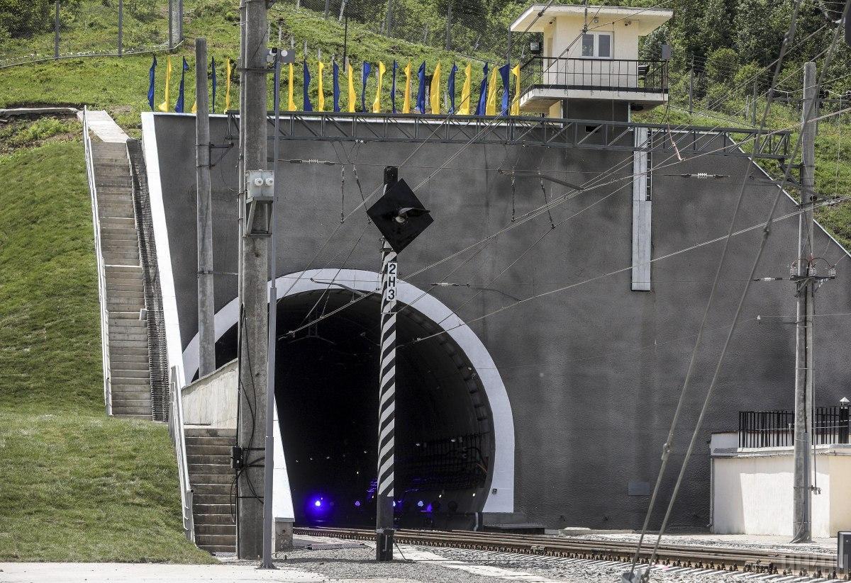 Новый Бескидский тоннель имеет большое значение для Украины / фото УНИАН