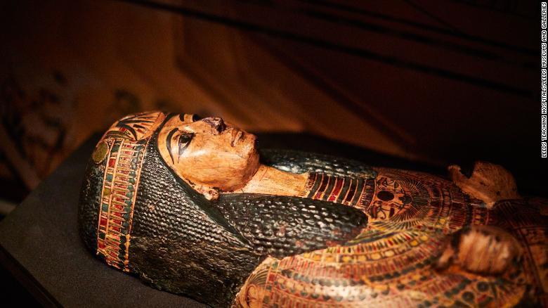 Ученые смогли услышать, как звучал голос мумифицированного жреца / Leeds City Museum