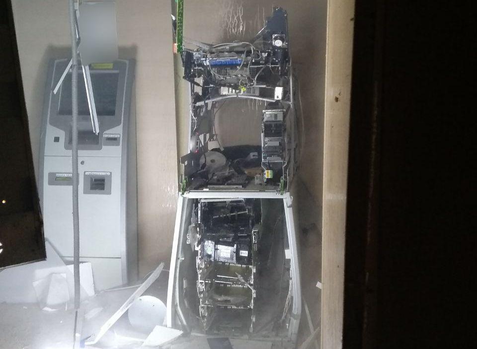В Харькове взорвали банкомат / фото hk.npu.gov.ua