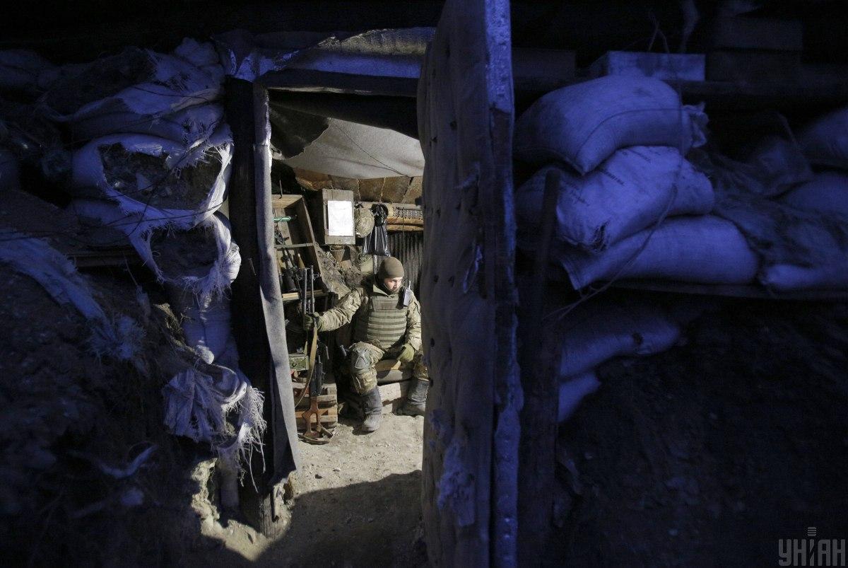 За сутки боевики 10 раз нарушили режим тишины / Фото УНИАН