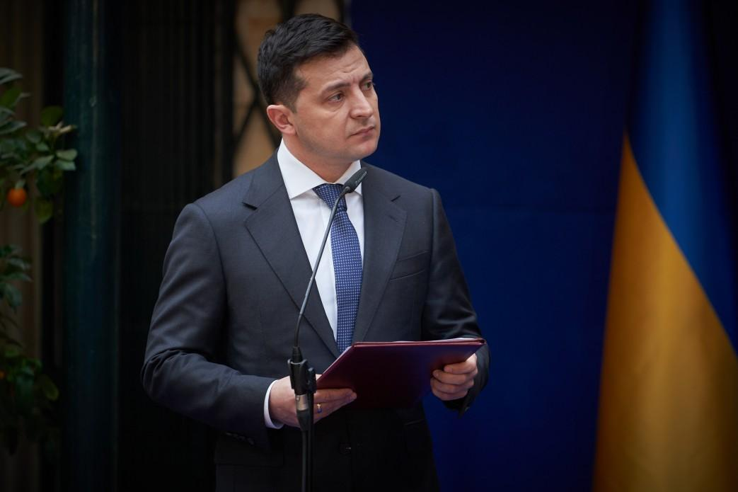 Zelensky thanks the ambassadors for assistance / Photo from president.gov.ua