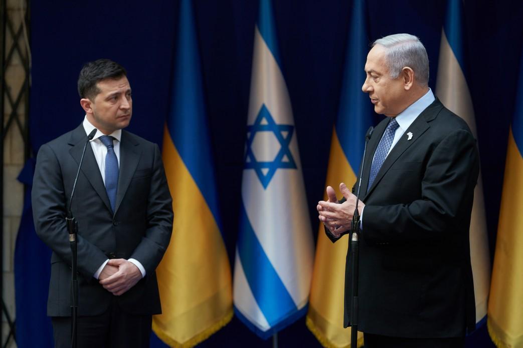 Президент Украины встретился с премьер-министром Израиля / фото president.gov.ua
