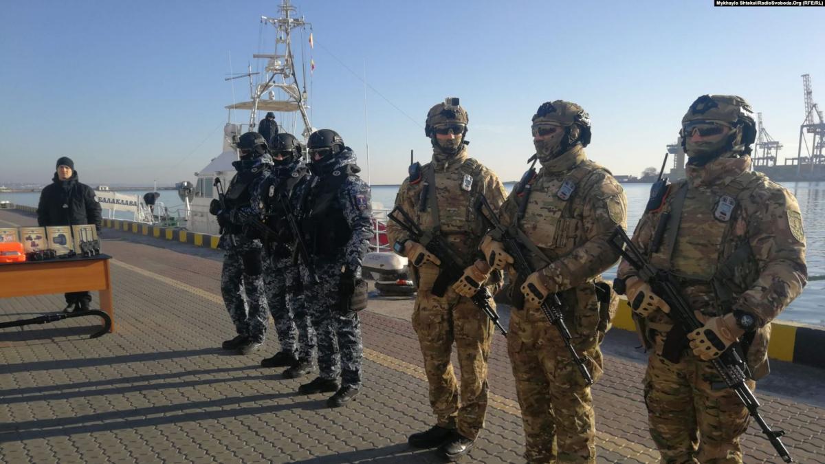 Часть оборудования уже активно используется на службе охранников / Фото: Радио Свобода
