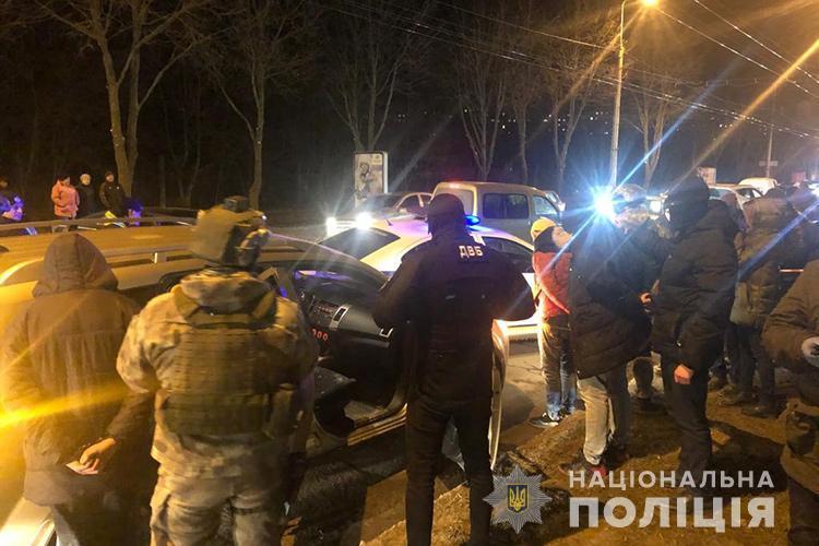 Сейчас задержаны 9 человек / фото НПУ