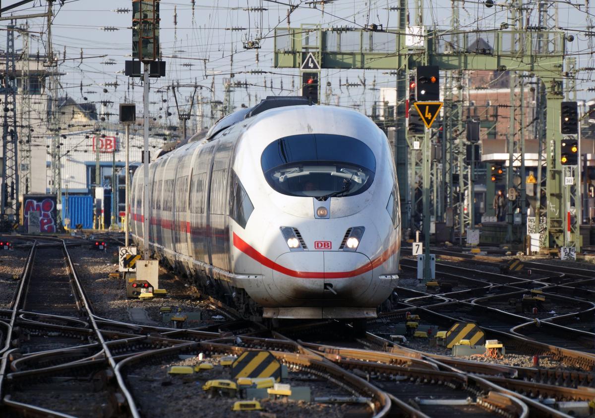 Україна підпише дорожню карту з Deutsche Bahn / фото wikipedia/Rolf Heinrich