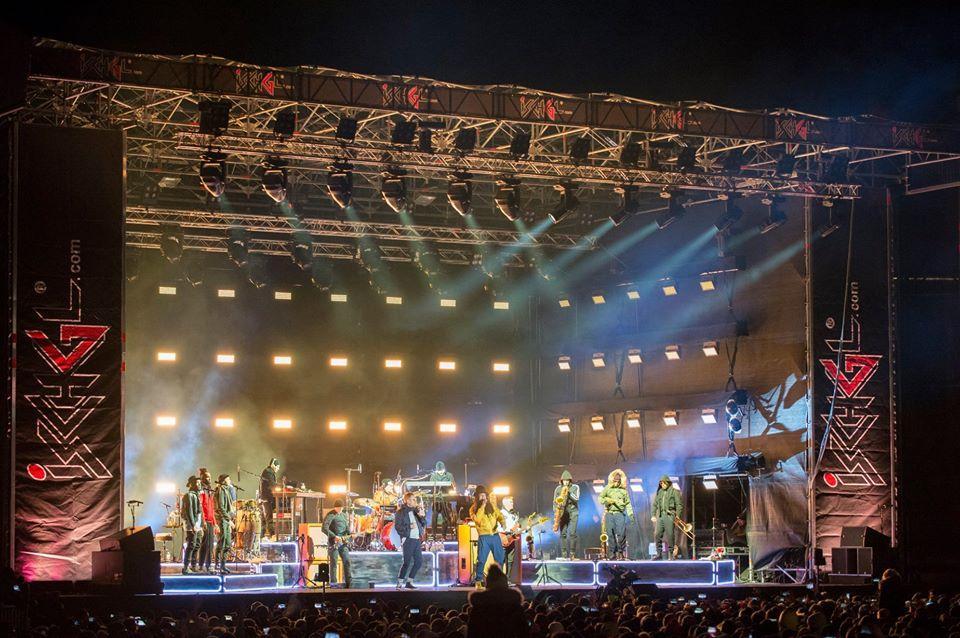 Ежегодно в Ишгле устраивают большие концерты - Seeed в 2019 году / Фото facebook.com/ischgl.paznaun/