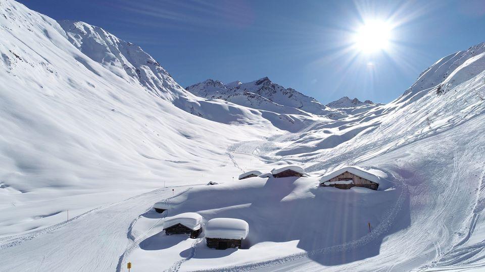 В Альпах потрясающие пейзажи / Фото facebook.com/ischgl.paznaun/
