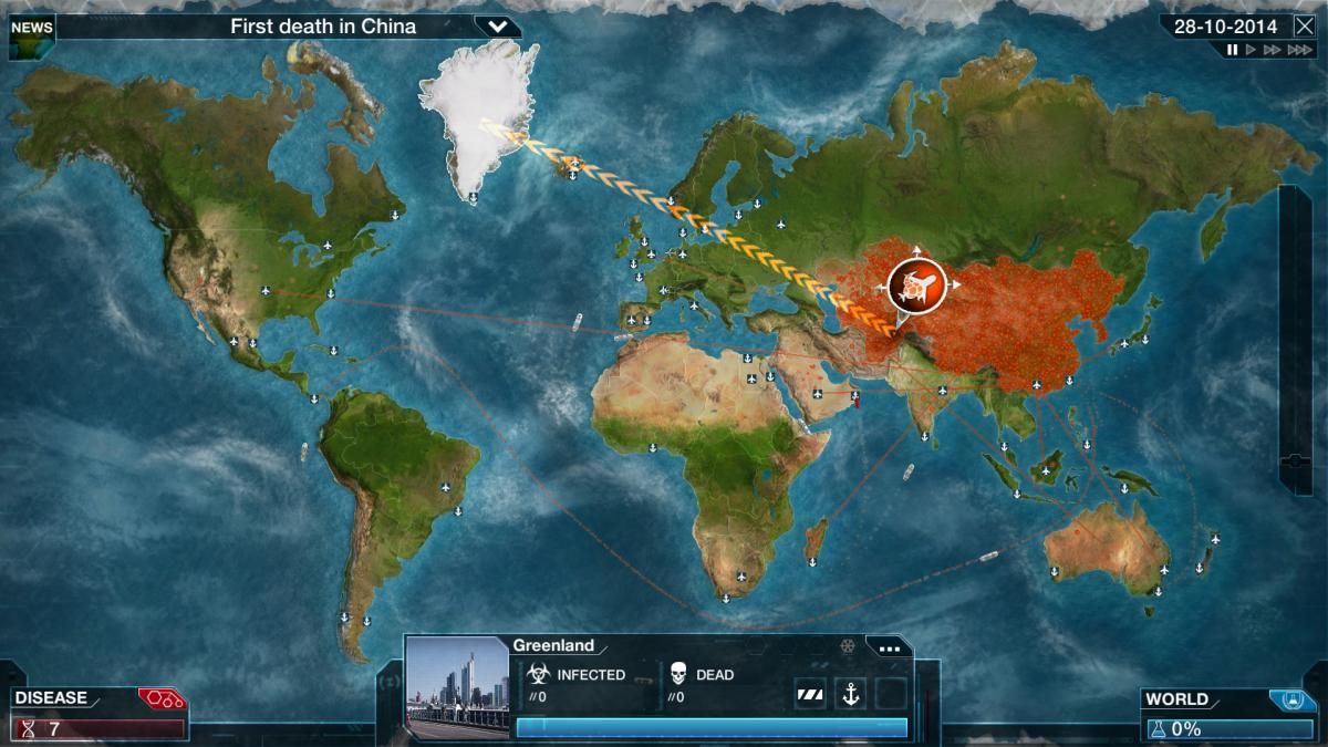 Китайська влада ополчилась на гру Plague Inc / store.steampowered.com