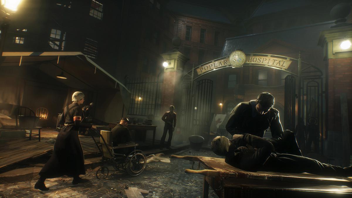 """В Vampyr свирепствует эпидемия """"испанки"""" / store.steampowered.com"""