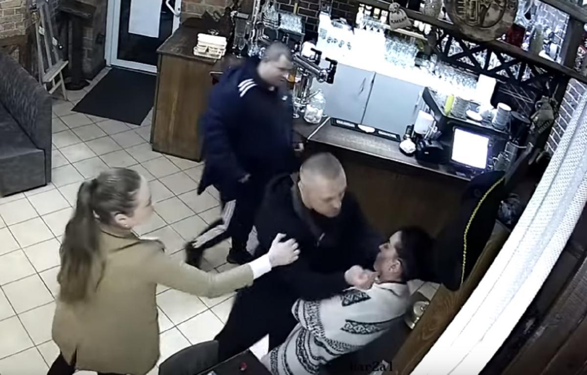 Полтавские СМИ заявляли, что нападающим был охранник Кивы, но политик это отрицает / Скриншот