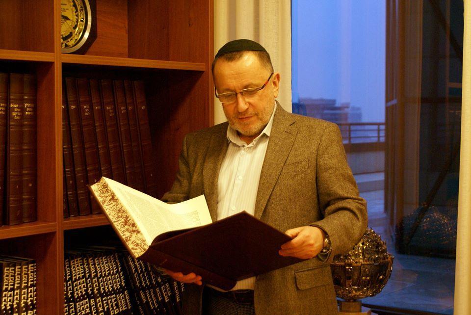 Руководитель Объединенной еврейской общины Украины Михаэль Ткач/ фото - из личного архива Михаэля Ткача