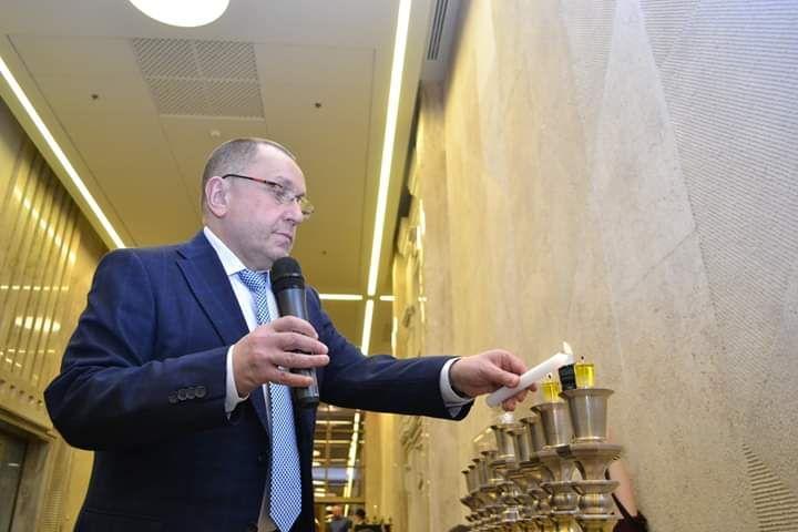 Ткач считает, что последствия для украинско-израильских отношений после визита Зеленского будут положительными/ фото - из личного архива Михаэля Ткача