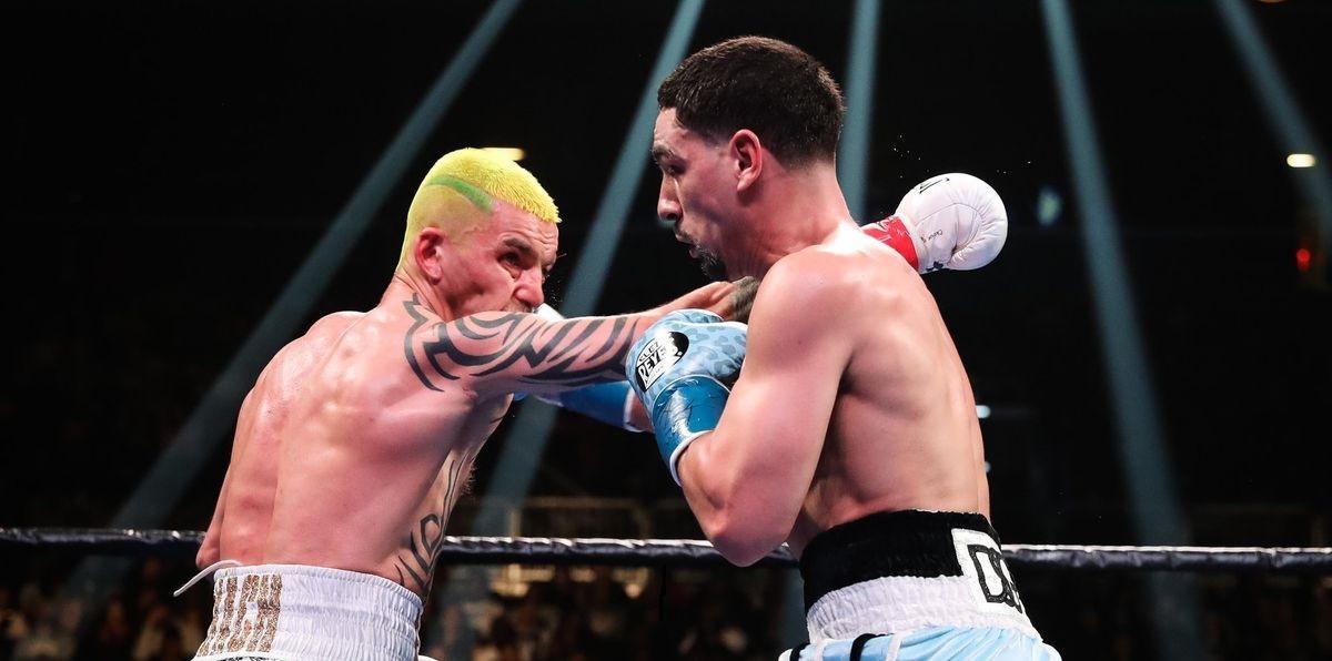 Редкач провів на рингу всі 12 раундів, але програв / фото: badlefthook.com