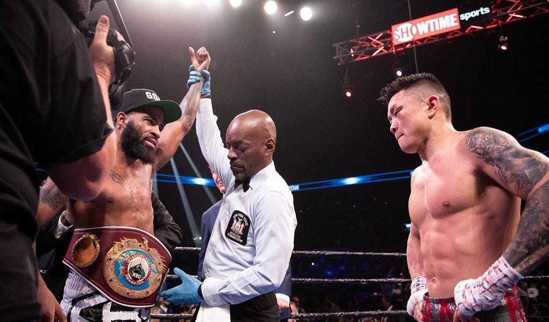 Хегай уступил по очкам / фото: Showtime Boxing