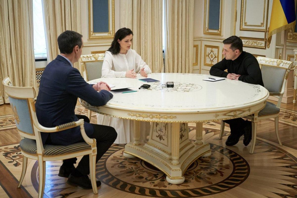 Зеленский заслушал руководство Минздрава по ситуации с коронавирусом / фото - ОП