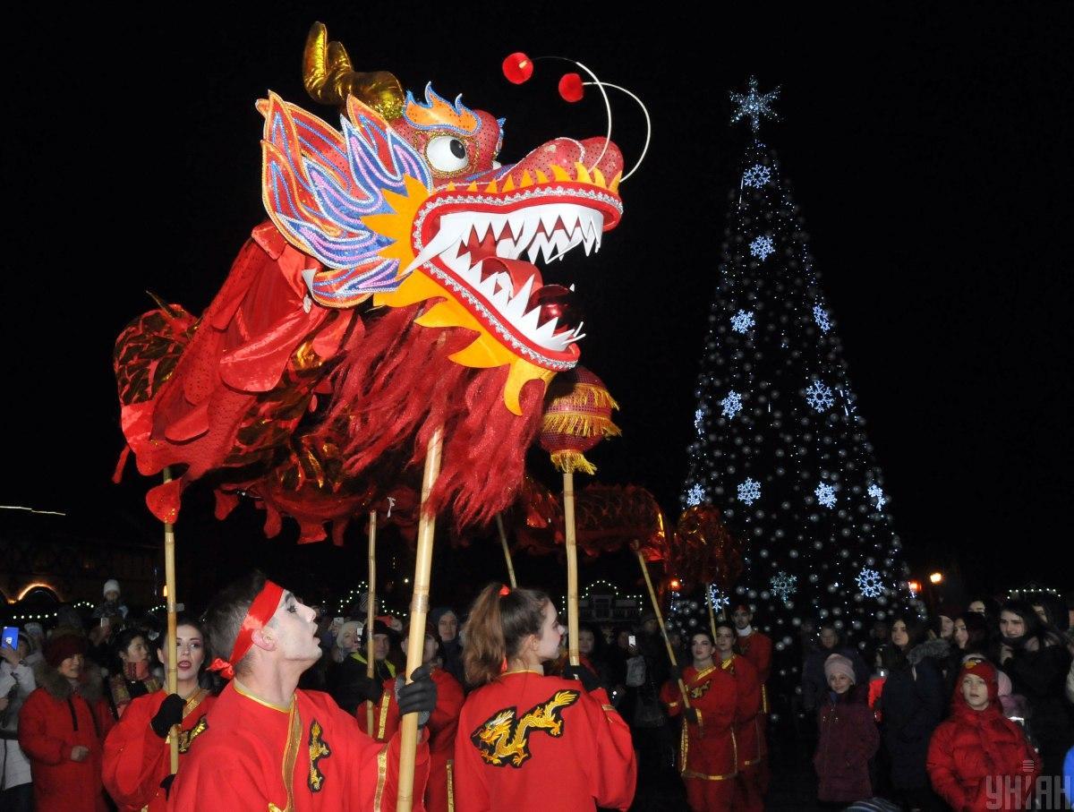 В Харькове отметили Китайский Новый год / фото УНИАН