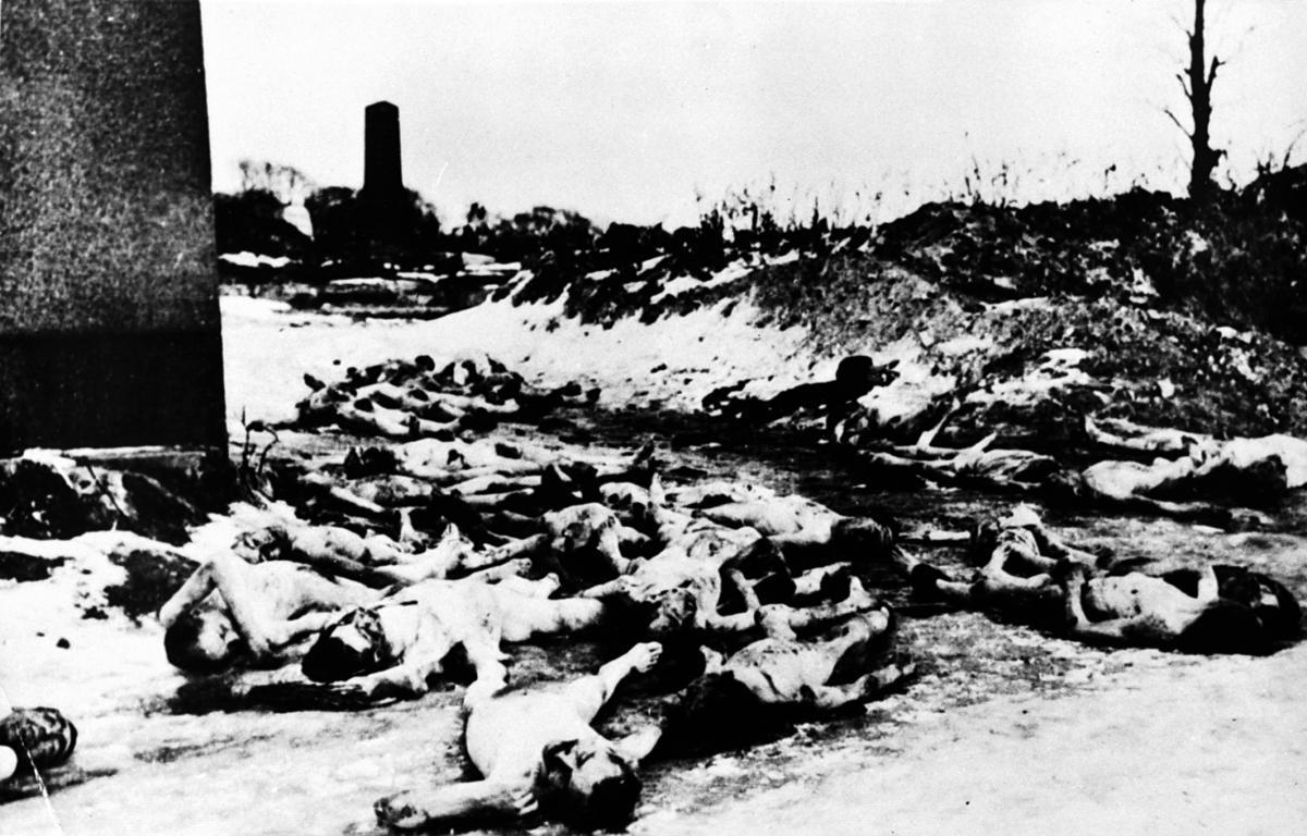 Трупы на еврейском кладбище. Львов, 1941. / memory.gov.ua