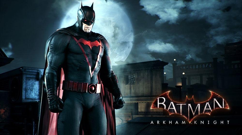 Новый скин для Бэтмена получат только владельцы PS4 / twitter.com