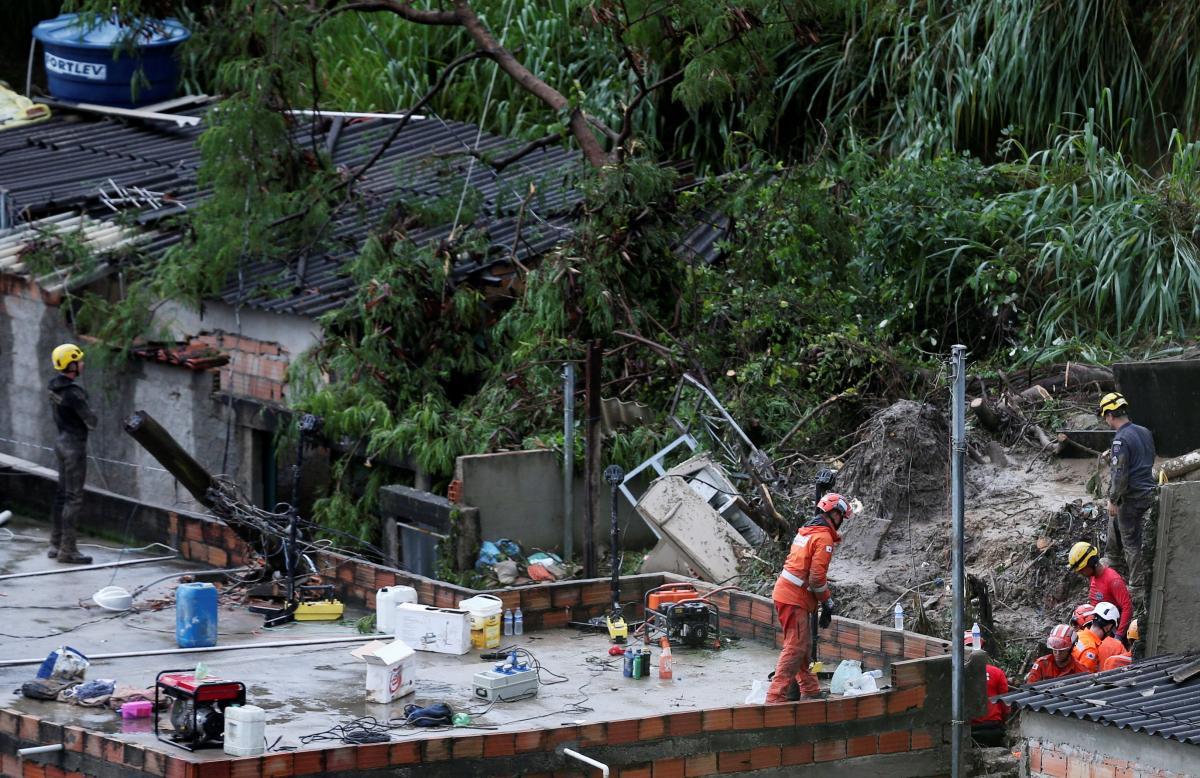 Последствия непогоды в Бразилии / REUTERS