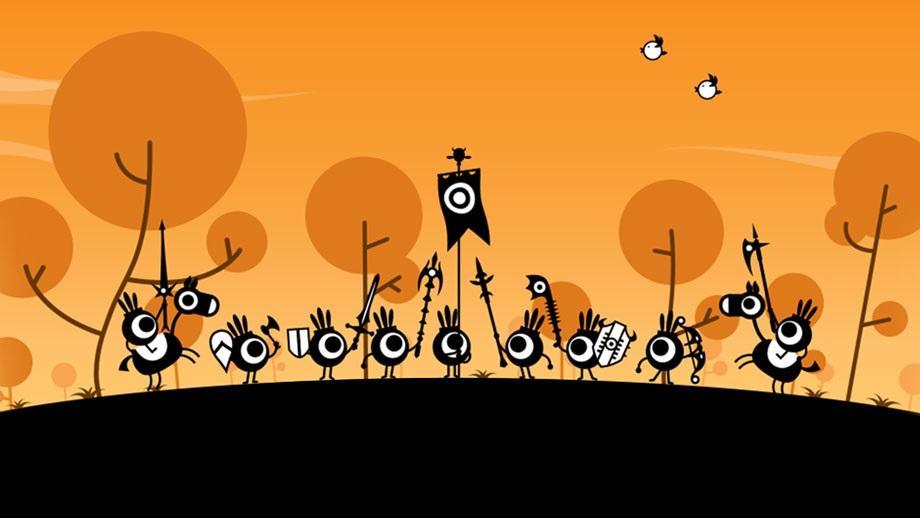Племя, которым управляет игрок с помощью священных барабанов / playstation.com
