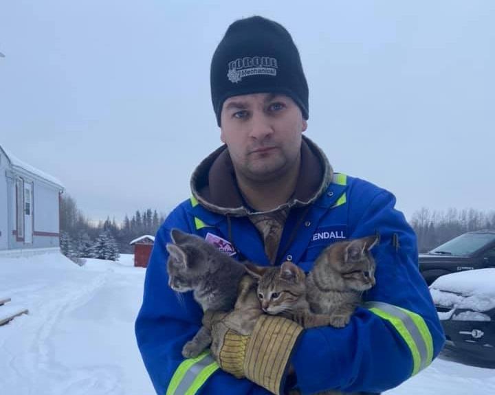 Кендалл Дивиш работает в нефтяной отрасли в Канаде / фото facebook.com/kendall.diwisch