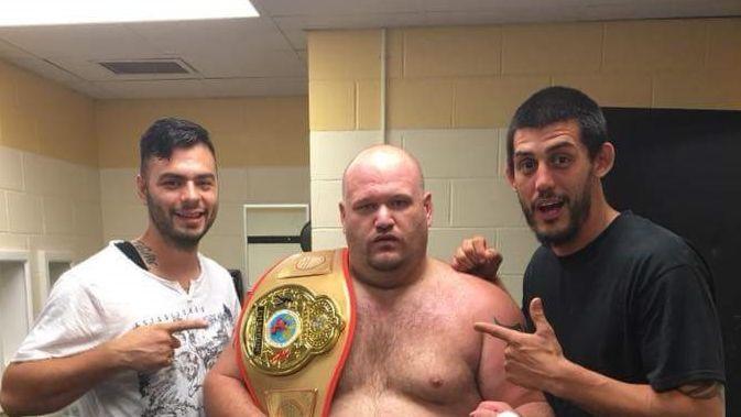 Кейс-Аллен має досвід виступів в MMA / фото: facebook.com/andrewcaseallan