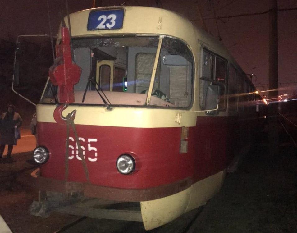 Трамвай переехал мужчину в Харькове / фото: hk.npu.gov.ua