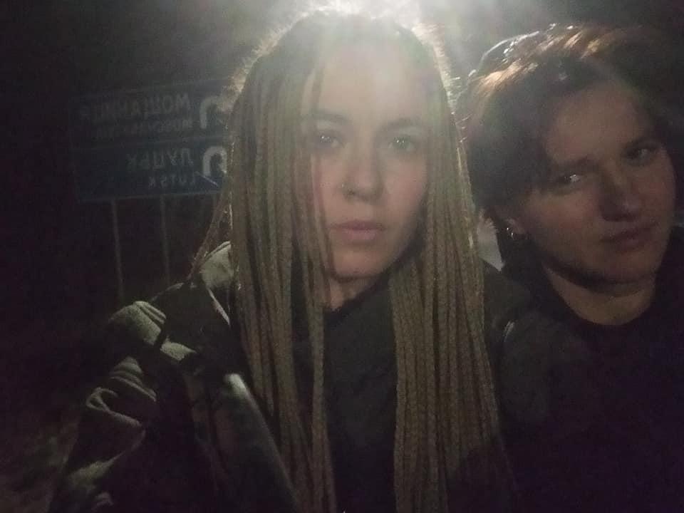 В автобусе, как рассказала Чорногуз,транслировали сериал на русском языке / фото: Facebook Yaryna Chornohuz