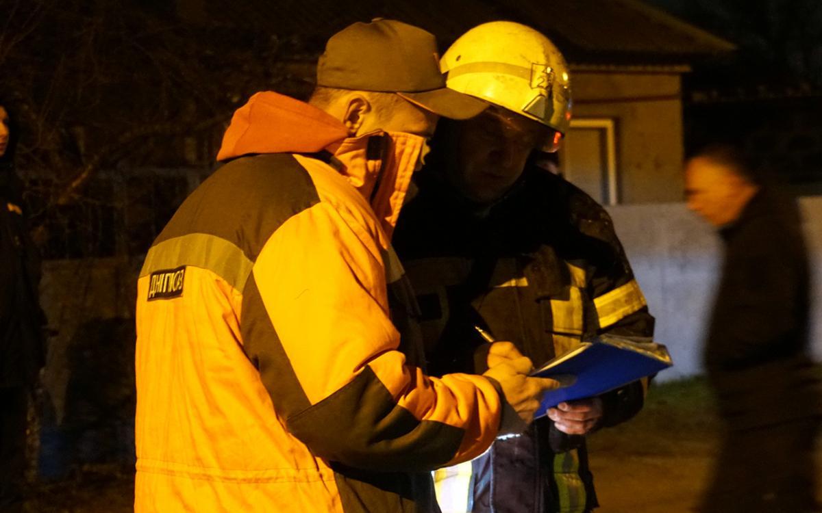 Огнеборцы ликвидировали пожар в больнице ветеринарной медицины / фото dp.dsns.gov.ua
