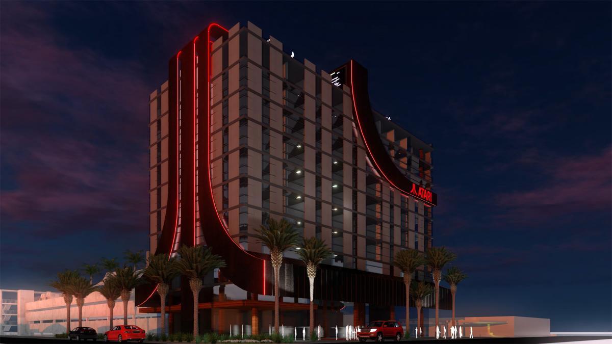 На отелях будет фирменный логотип Atari / atarihotels.com