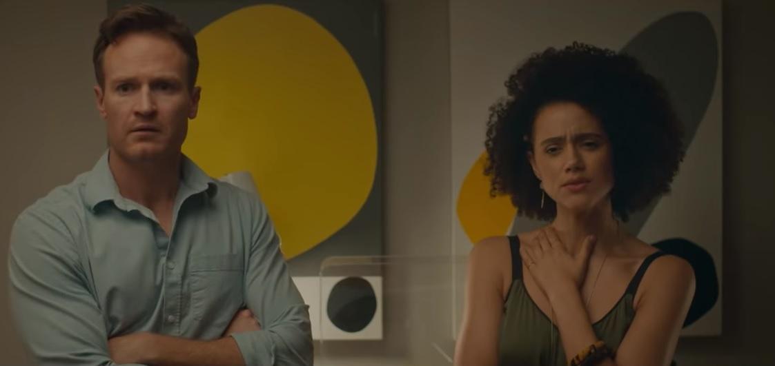В центре сюжета оказываются супруги Одра и Ноэль \ скриншот с видео