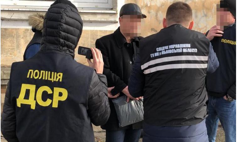 Вскоре суд изберет для задержанного меру пресечения / lv.npu.gov.ua
