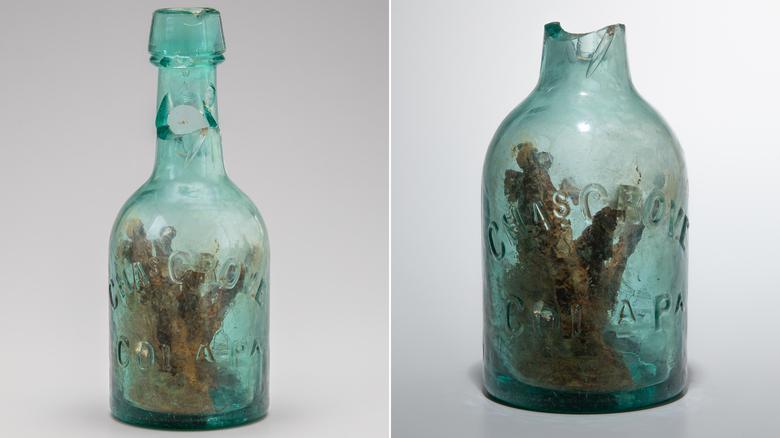 Ранее ученые считали, что бутылку воины использовали для пива, воды или для хранения гвоздей / cnn.com