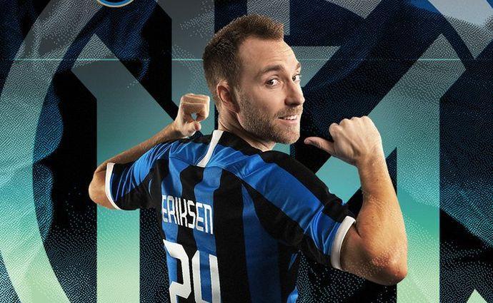 Крістіан Еріксен буде грати під №24 / фото: twitter.com/Inter_en