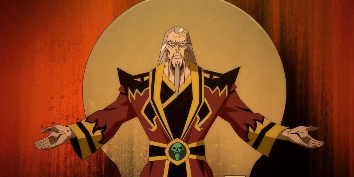 Шанг Цунг - один из главных злодеев игры появится в анимационной ленте / скриншот из трейлера