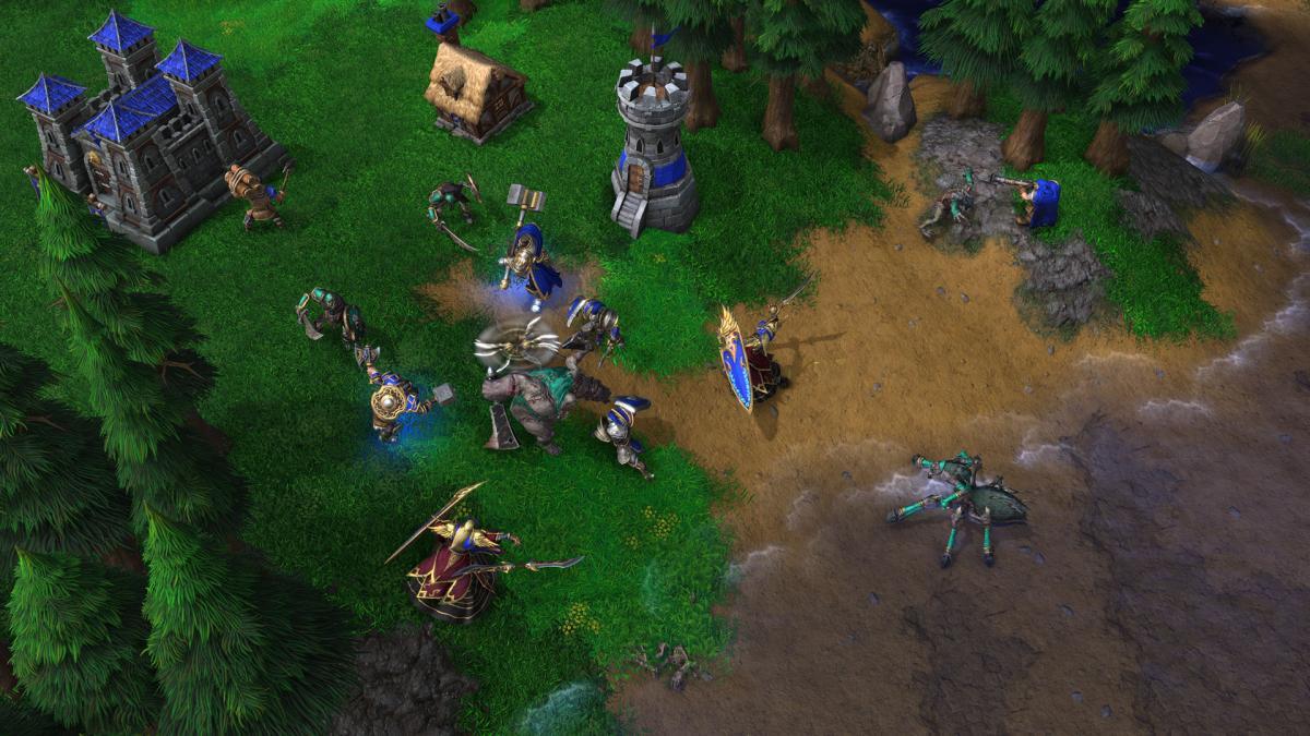 Кадр з Warcraft 3: Reforged / playwarcraft3.com