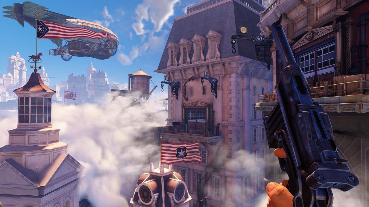 BioShock Infinite, а также две предыдущие игры серии будут доступны подписчикам PS Plus в феврале / скриншот из игры