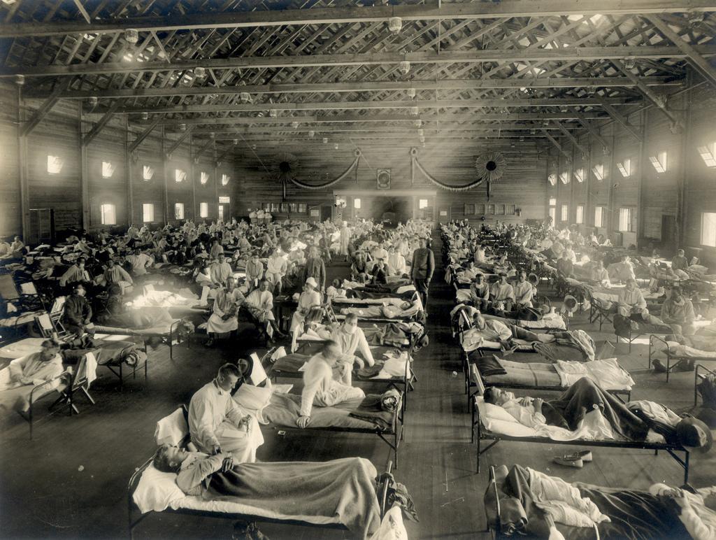"""""""Испанский грипп"""" остается самой смертоносной пандемией в истории / medicalmuseum.mil"""