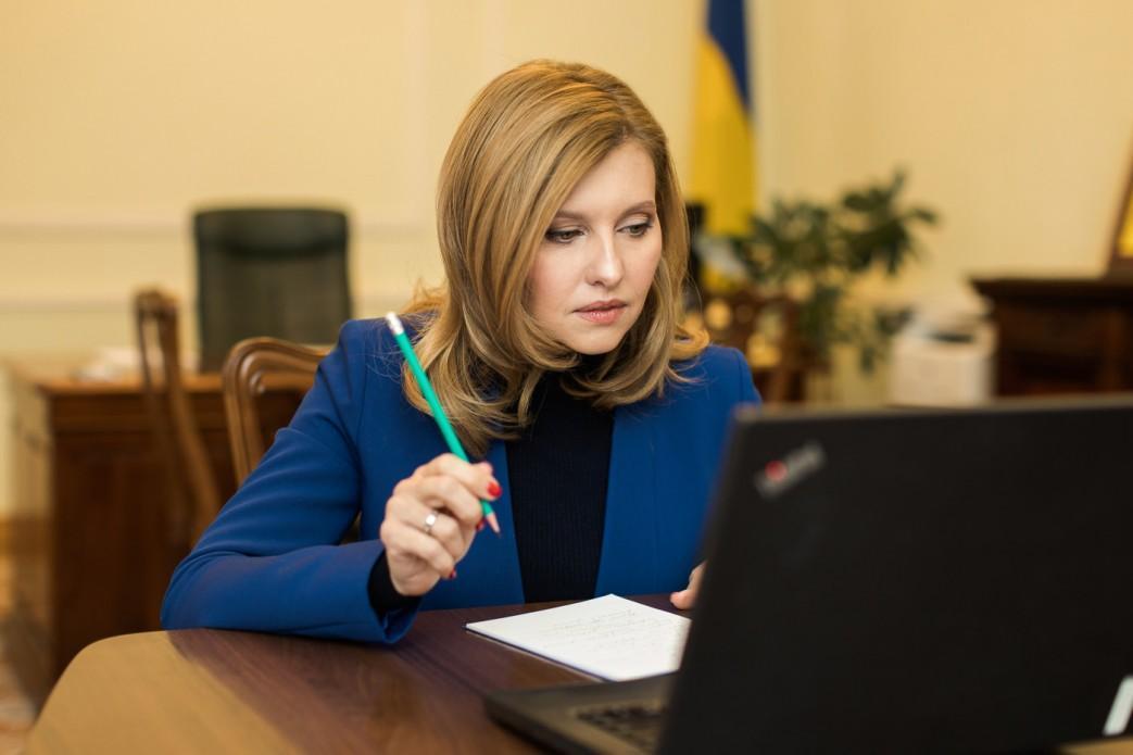 Olena Zelenska is in hospital now / Photo from president.gov.ua