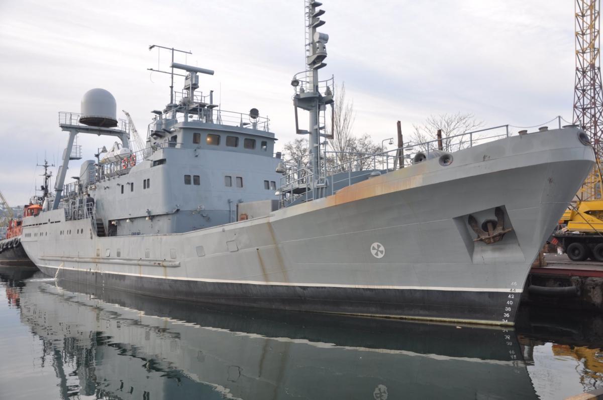 Экипаж выполнил различные задачи / Фото: ВМС Украины