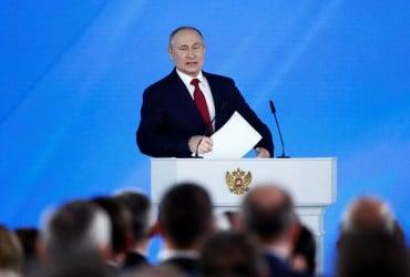 """Путін знову заговорив про """"звільнення країн"""" і застеріг від спроб спотворити історію Великої вітчизняної війни"""