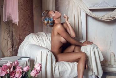 Памела Андерсон снялась обнаженной для итальянского глянца (фото)