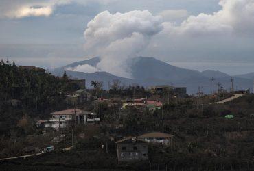 С начала извержения вулкана Тааль на Филиппинах произошло более 600 землетрясений