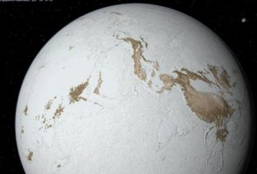 Удар астероида мог заставить полностью замерзшую Землю растаять