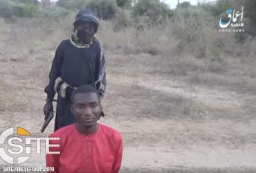 """Связанный с """"Исламским государством"""" 8-летний мальчик казнил нигерийца (фото)"""
