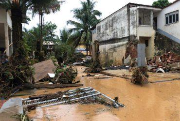 Восток Бразилии пострадал от сильных дождей