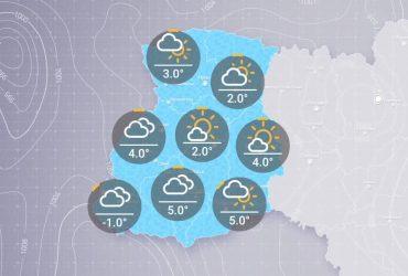 Прогноз погоды в Украине на вторник, утро 28 января
