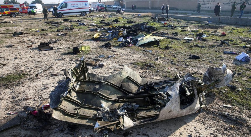 Ukrainian experts on PS752 crash site were first ones to find out about missile hit