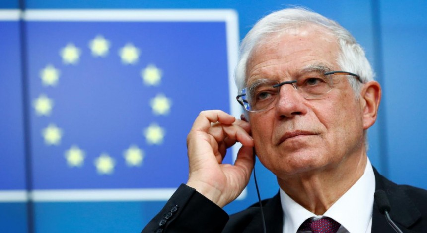 EU's Borrell calls on Russia to withdraw troops from Ukrainian border