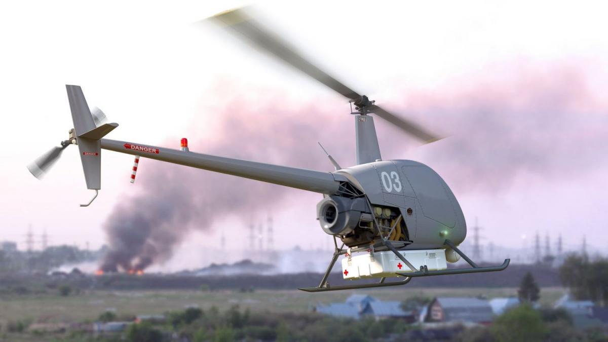 Беспилотник можетперевозить грузы до 180 кг / uavos.com